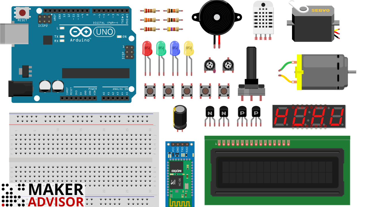 Best Arduino Starter Kits Buying Guide 2018 Maker Advisor Creative And Cool Ways To Reuse Old Circuit Boards 15 4