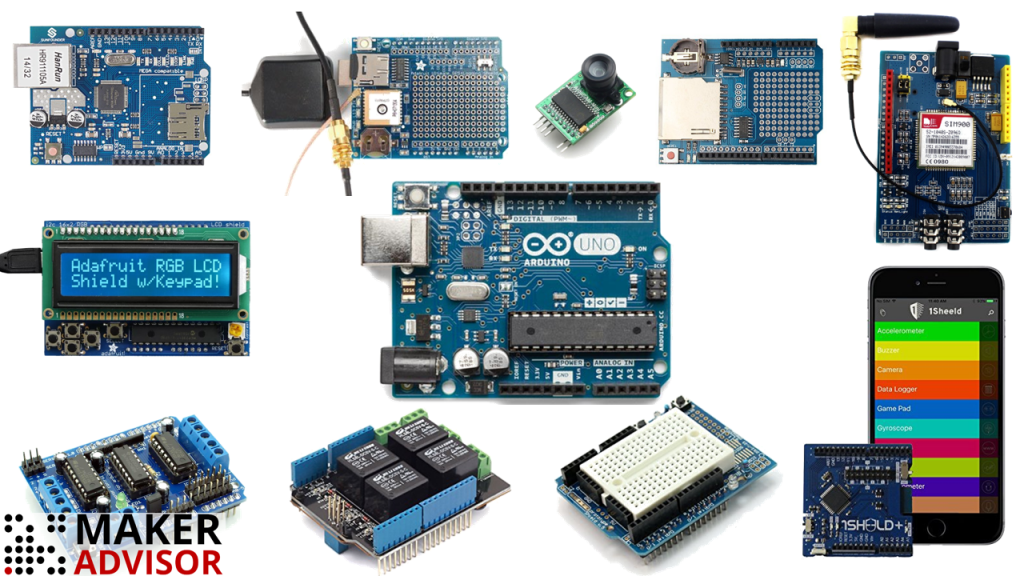 Top 10 Most Useful Arduino Shields - Maker Advisor