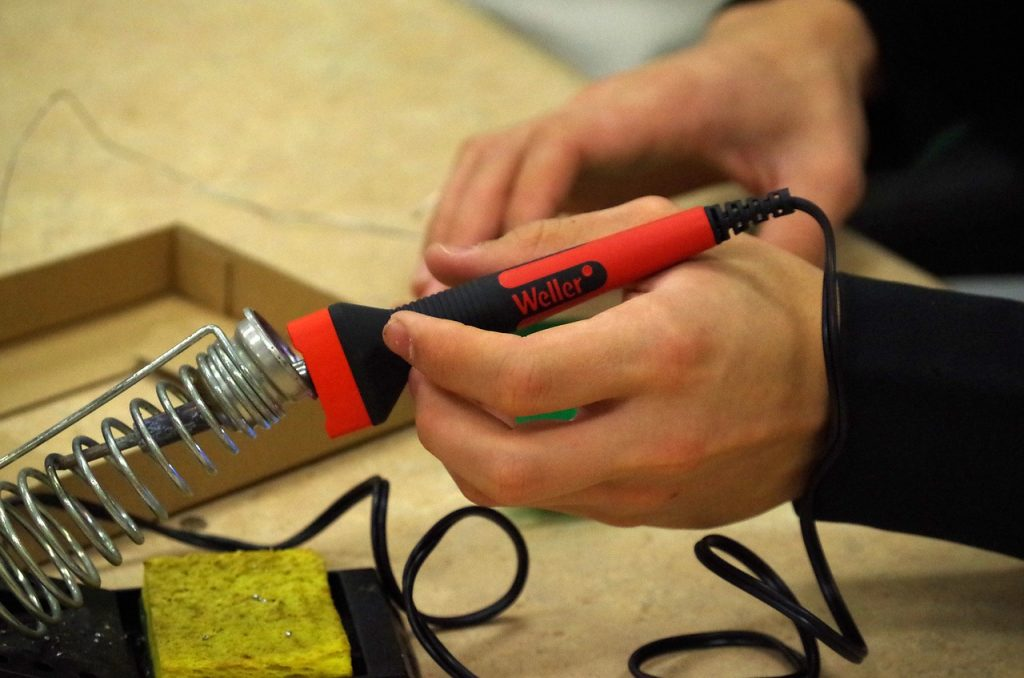 Image result for soldering iron stand applications