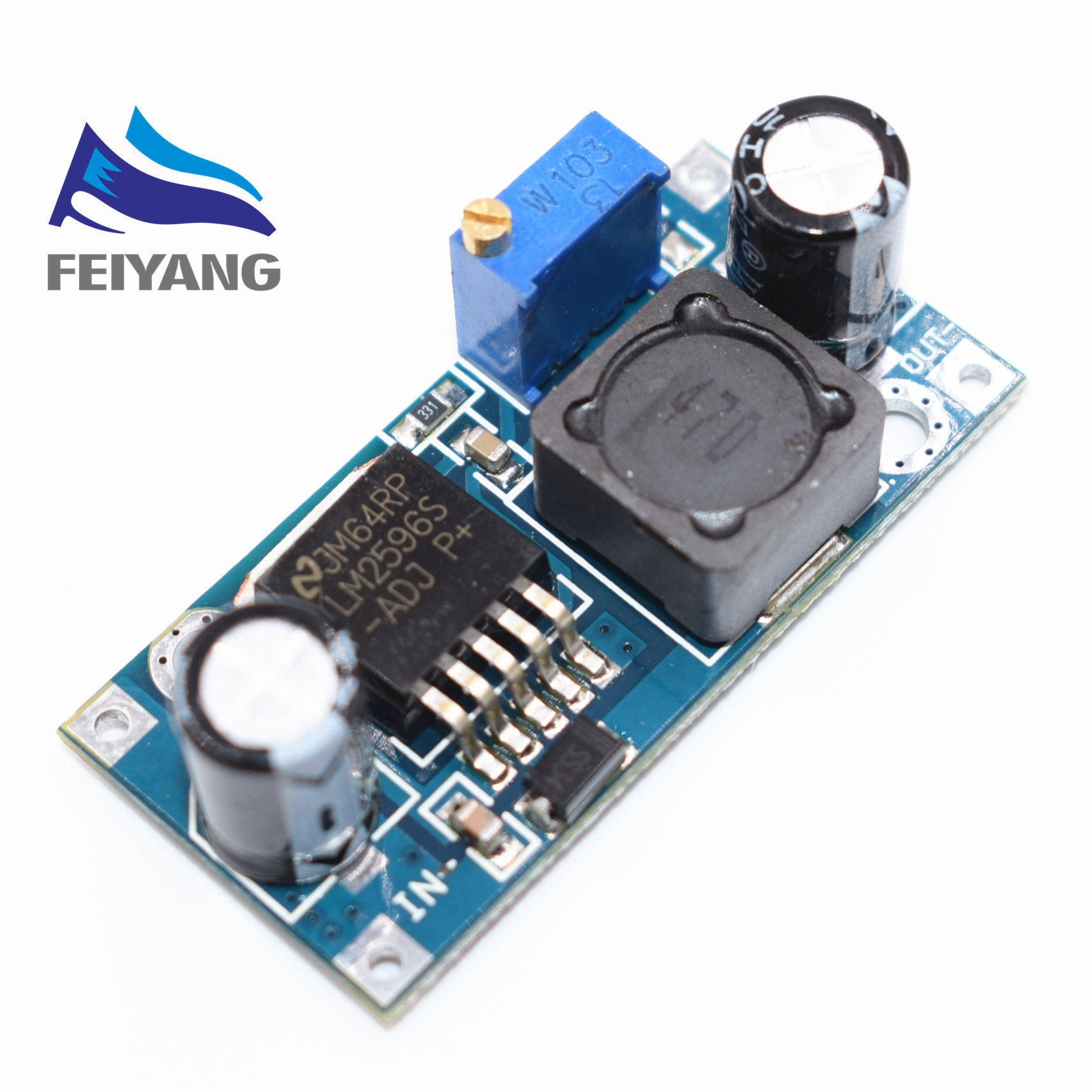 Aliexpress- 1 pcs LM2596 DC to DC Buck Converter Power Supply Step Down Module