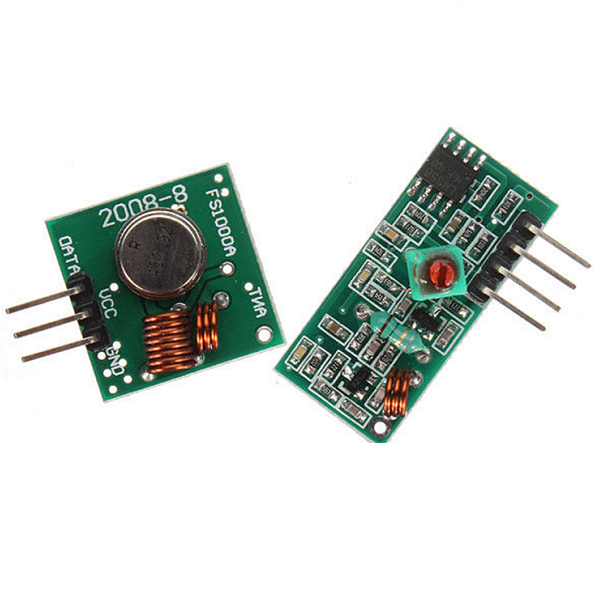 Banggood - 433Mhz RF transmitter and receiver kit (CN warehouse)