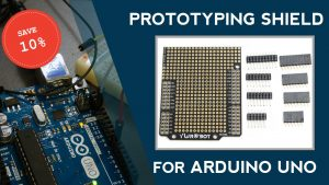 Prototyping Shield For Arduino For $3.40