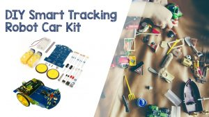 Teach Robotics To Your Kids With This DIY Smart Tracking Robot Car Kit