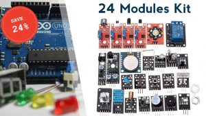 24 Modules To Take Your DIY Electronics Projects To the Next Level (24% Off)