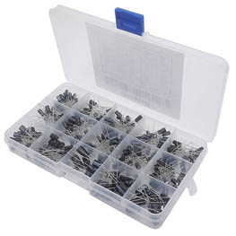 Banggood - Electrolytic capacitors Kit 215pcs 15 values