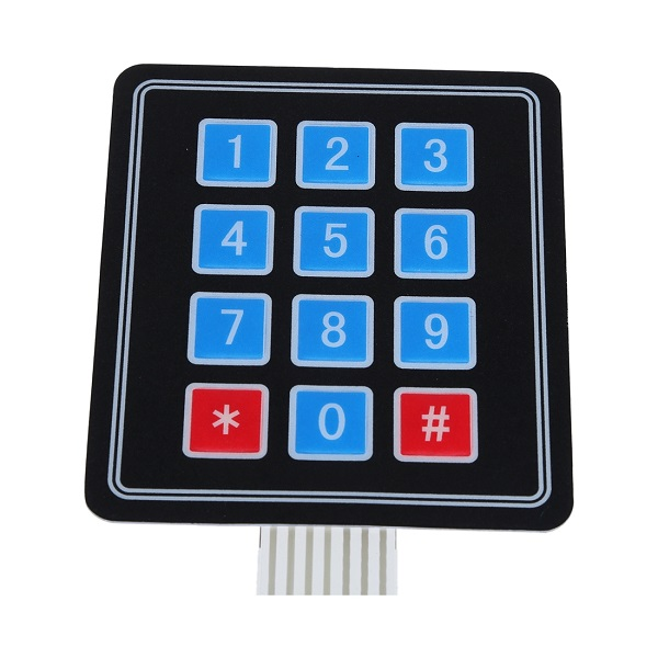 Banggood - 4x3 Matrix Keypad Membrane Switch For Arduino 9 Keys