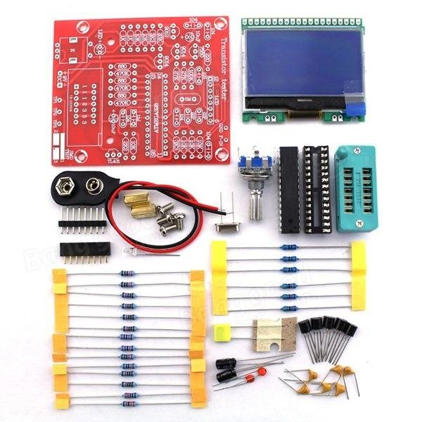 DIY KIT - Transistor Tester with Graphic Display