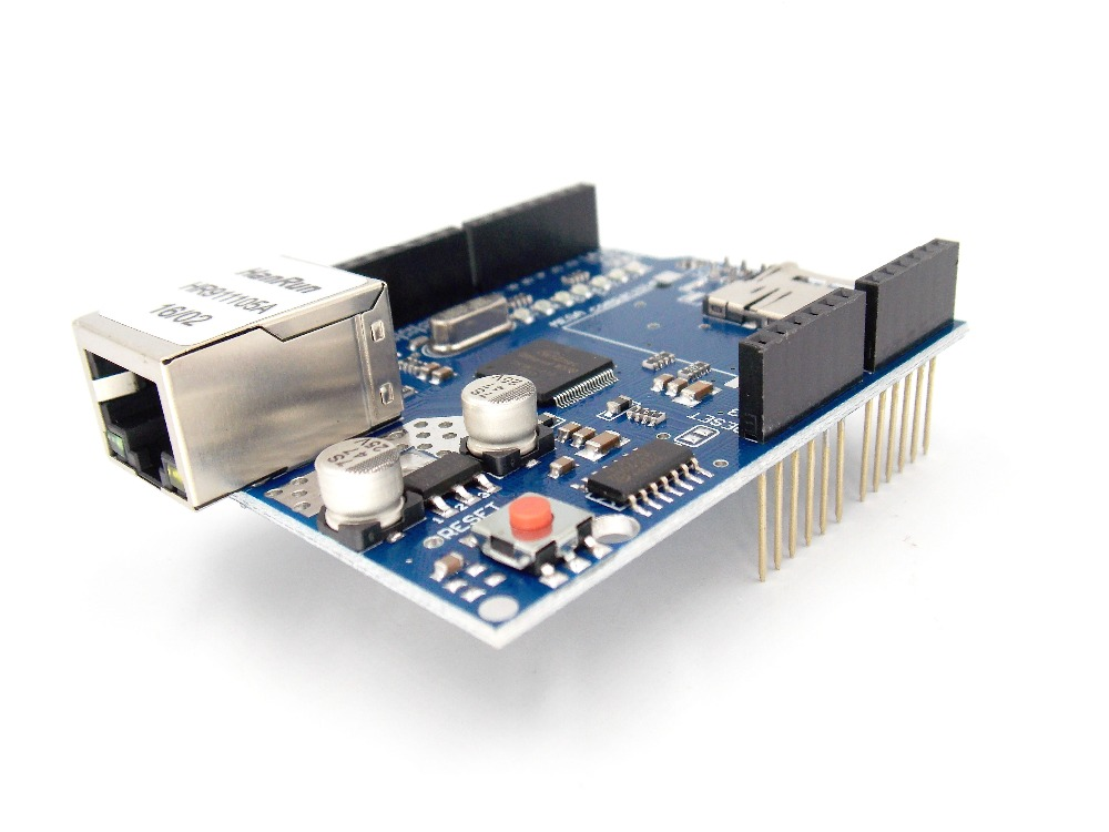 Aliexpress - Ethernet Shield W5100 (Compatible with Arduino UNO and Mega 2560)
