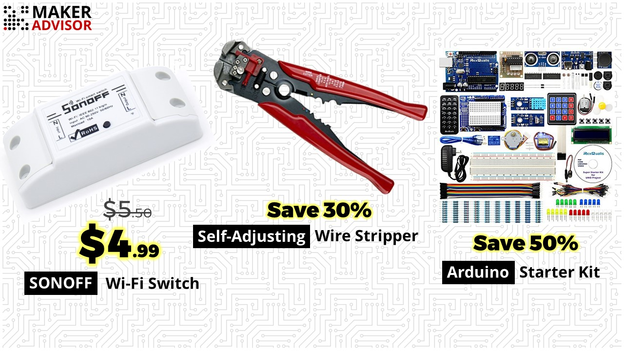 Monday s best deals sonoff self adjusting wire stripper