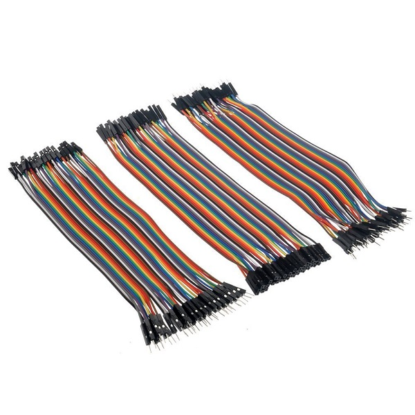Banggood - 120pcs Jumper Wires: male to male + male to female + female to female