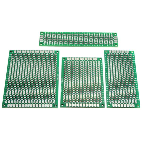 Banggood - 40pcs Prototyping PCB Printed Circuit Board (different sizes)