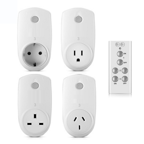 Banggood -Smart Home RF Wireless Remote Control Socket Power Plug Controller EU US UK AU