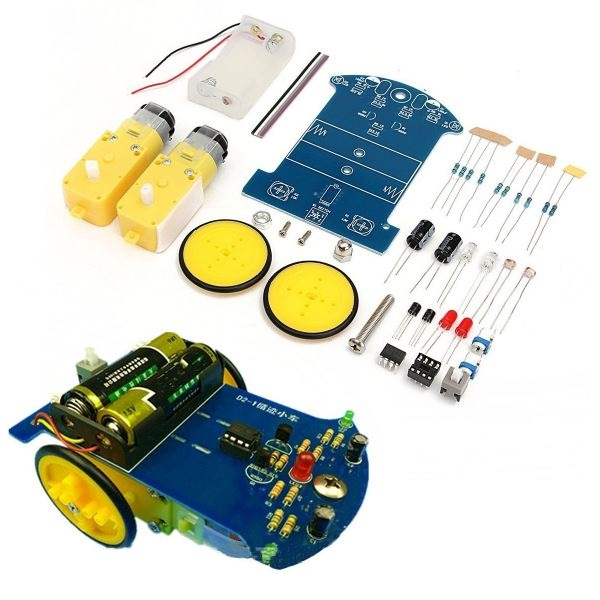 DIY Smart Tracking Robot Car