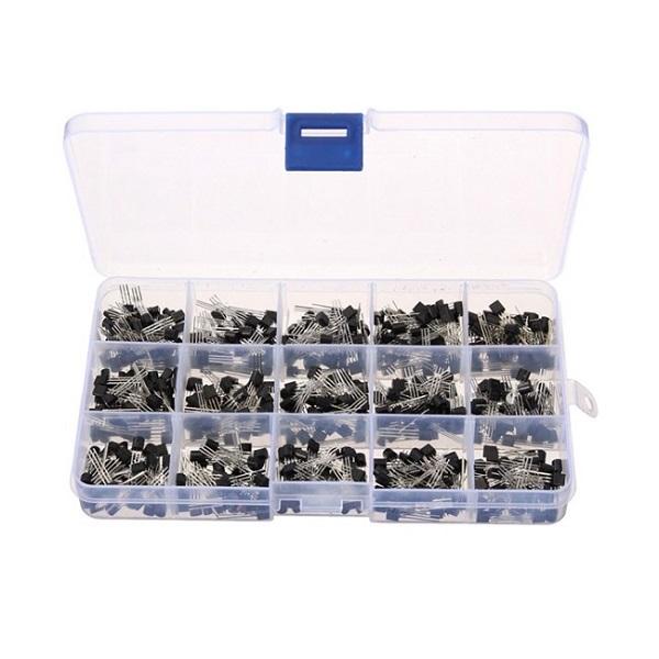 Banggood - 15 Value 600pcs NPN PNP Bipolar Transistor Assortment Kit (CN warehouse)