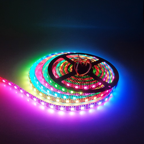 Banggood - WS2812B 5050 RGB LED Strip 30/60/144 LEDs/M ws2812 IC Individual Addressable 5V