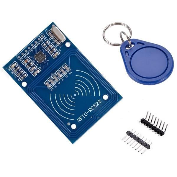 Banggood - MFRC522 RFID Reader Module + 3pcs S50 Blank Card + Keychain