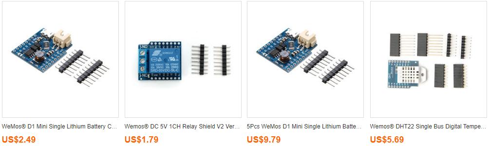 Top 10 WeMos D1 Mini Board Accessories (ESP8266) - Maker Advisor