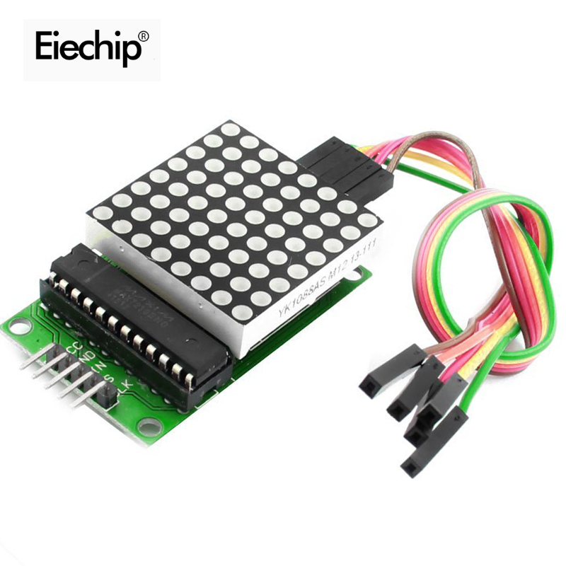 Aliexpress - 2 pcs MAX7219 LED 8x8 Dot Matrix Display Module