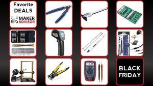 🖤 Black Week Favorite Deals: 3D Printers, Screwdrivers, Cutting Pliers, Measurement Tools, and More