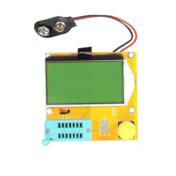 LCR-T3 Transistor Tester Resistance Capacitance Diode ESR SCR Inductance Meter