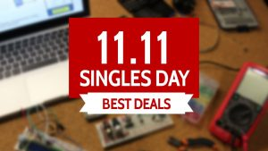 Singles' Day Deals 2017: DIY, Electronic Accessories, Multi-tools, 3D Printing, And More