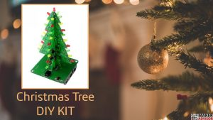 Add a DIY Electronic Christmas Tree To Your Christmas Decoration
