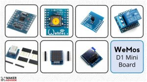 Top 10 WeMos D1 Mini Board Accessories (ESP8266)