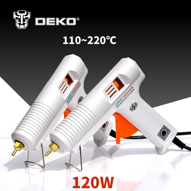 Aliexpress - DEKOPRO 120W Hot Melt Glue Gun Temperature Control