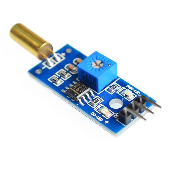 Banggood - Tilt Sensor Module Golden SW520D with Roll Ball Switch