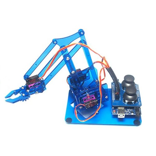 Arduino Robot Arm 4 Axis Kit With Joystick
