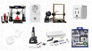 Save on 3D Printers, Dremel Tools, and Smart Sockets