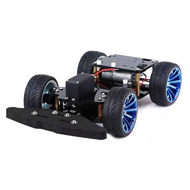 Elecrow 4WD RC Smart Car Chassis with S3003 Metal Servo Bearing Kit for Arduino Robot Platform DIY Kit Robot