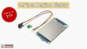 Add a Nextion Touchscreen Display to Your Projects For 27% Off