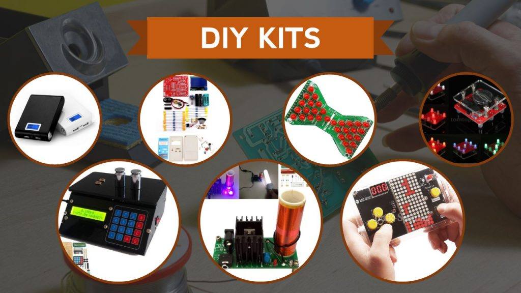 8 gadgets you didnt know you could make with a diy kit maker advisor do you like to know how things are made the best way to learn is building them yourself weve put together a list of 8 electronic diy kits for interesting solutioingenieria Gallery