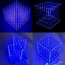Geekcreit® 8x8x8 LED Cube DIY Kit