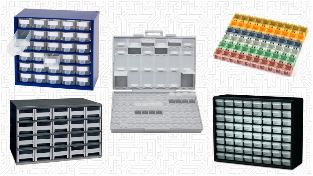 Best Storage Organizers For Electronic Components And