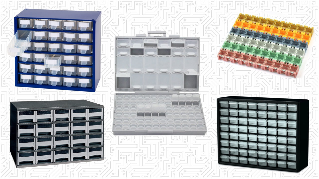 Best Storage Organizers For Electronic Components and Parts - Maker Advisor