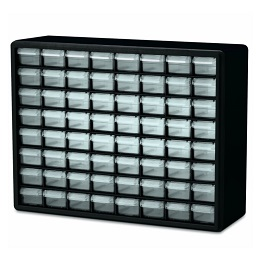 Cabinet Organizer 64 Drawers