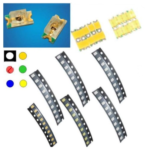 Banggood - 10 pcs 1206 Colorful SMD SMT LED Light