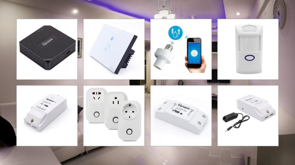 Building Home Automation Projects And Improving Your Smart Can Be Much Easier With Sonoff Products Allow You To Control Household