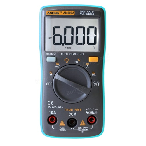 Banggood - AN8002 Digital Multimeter