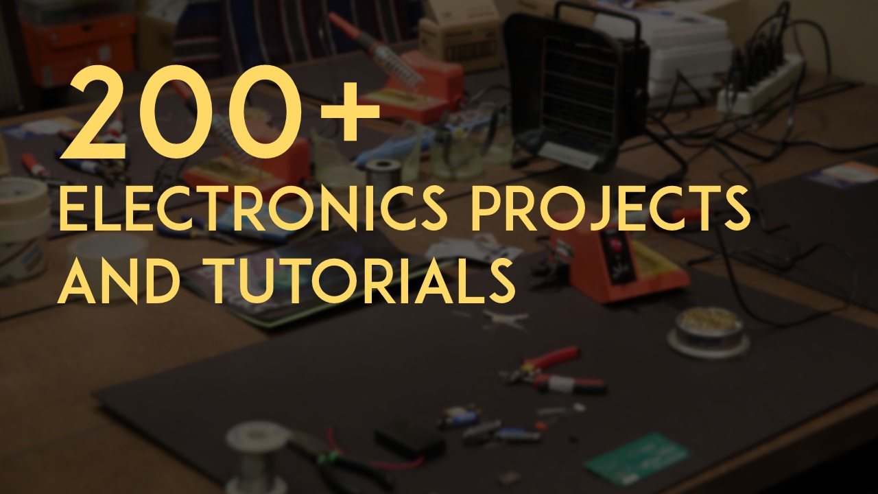 200 Free Electronics Projects And Tutorials Maker Advisor New Electronic Circuit