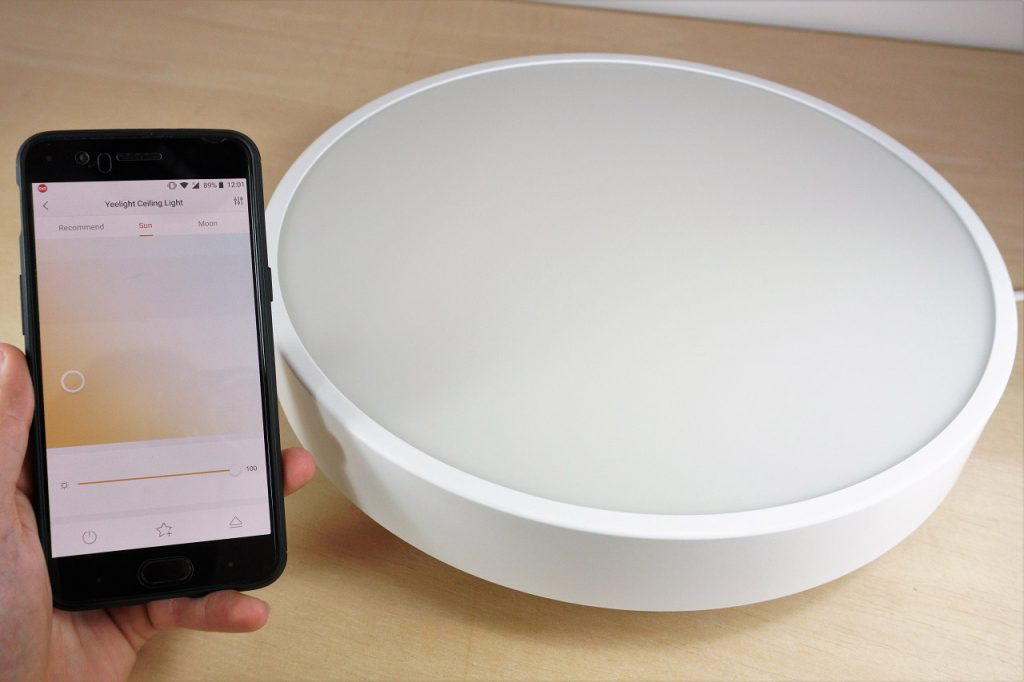 Xiaomi Yeelight AC220V 28W 240 LEDs Intelligent Ceiling Light