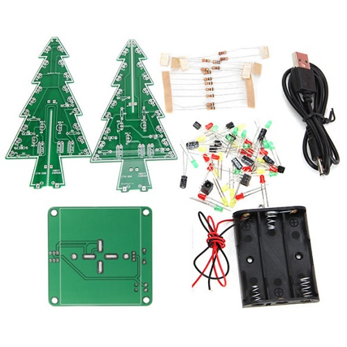 Geekcreit® DIY Christmas Tree LED Flash Kit