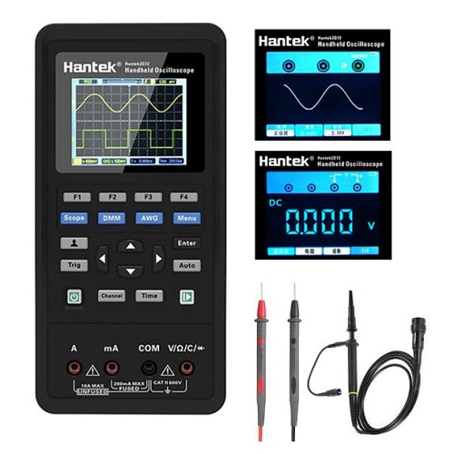 Hantek 3in1 Digital Oscilloscope+Waveform Generator+Multimeter