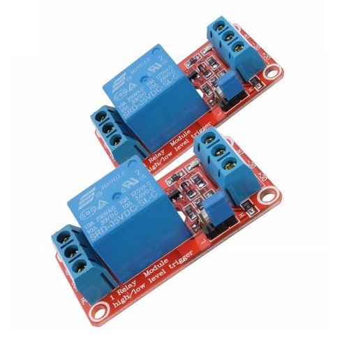 5V 1channel relay module (2 pieces)
