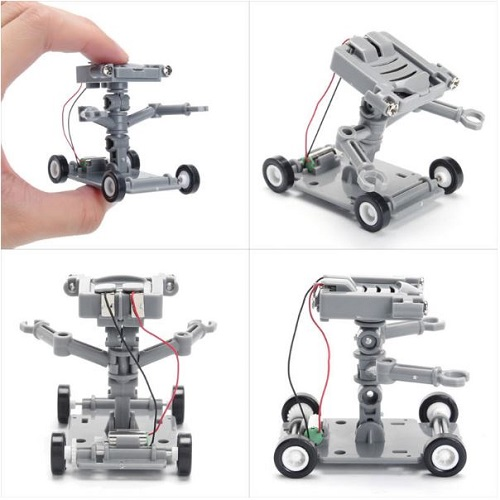 DIY Assembly Salt Water Powered Robot Kit