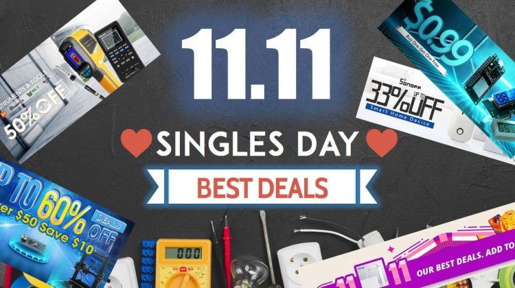 Singles' Day Deals 2018: Electronics Components, Smart Home, Tools, and More