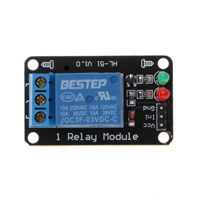 Aliexpress - 1 Channel 3V Relay Module 3.3V