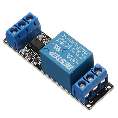 Banggood- 1 Channel 3V Relay Module 3.3V